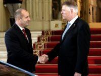 Президентът Румен Радев и румънският президент Клаус Йоханис / Пресцентър на Президентството на РБ