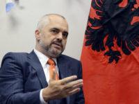 Премиерът на Албания Еди Рама