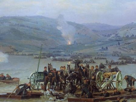 Руско-турската война- Форсирането на Дунав