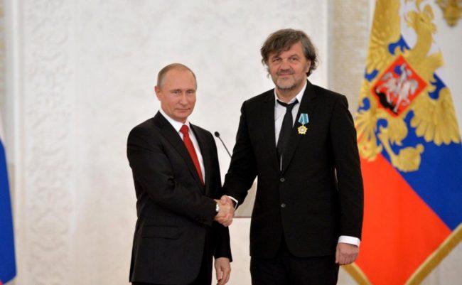 Кустурица: благодарение на Путин сърбите се чувстват уважавани
