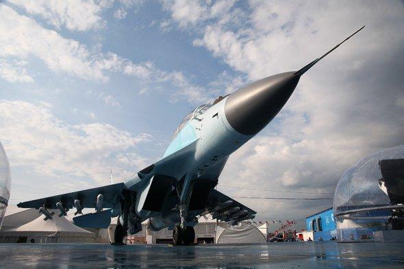 Изтребител поколения 4++ МиГ-35 Фото: Денис Биковских / РБК