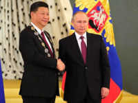 Путин награди Цзинпин с най-висшия руски орден