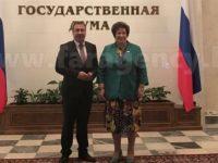 Кметът на Несебър влезе в руския парламент