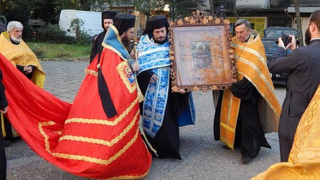 Пловдив посреща днес част от покрова и одеждите на Света Богородица от Русия
