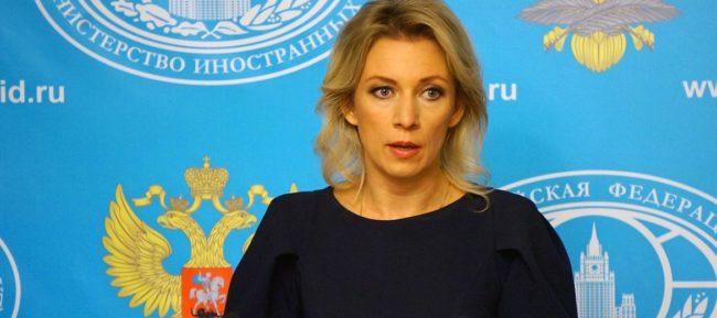 Захарова: Измислица са обвиненията за наша намеса в Македония