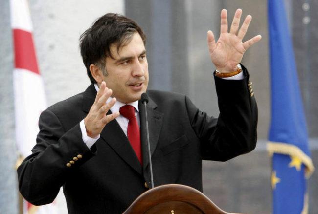 """Саакашвили заяви, че ще """"освободи Украйна от молдавските и донецки олигарси"""""""