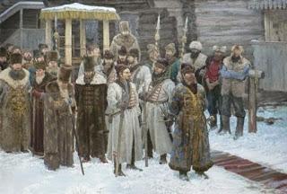 На 29 август 1698-а цар Петър I реже брадите на руснаците