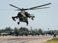 Ми-28 по време на учение Снимка: Виталий Анков/РИА