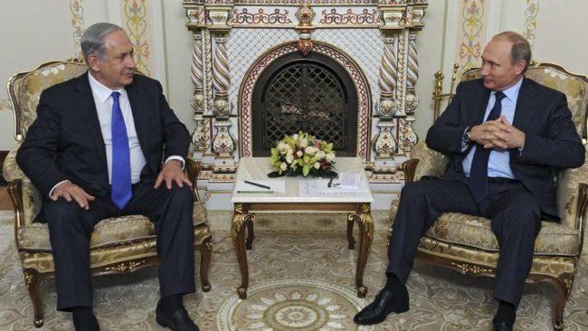Нетаняху осъди пред Путин засилването на иранското присъствие в Сирия