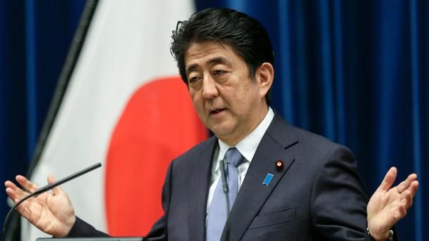 Според японския министър-председател не е нормално все още да няма подписан мирен договор с Русия след Втората световна война
