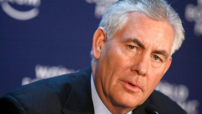 Тилърсън: Спорът с Русия не бива да се разраства