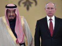Путин посрещна краля на Саудитска Арабия