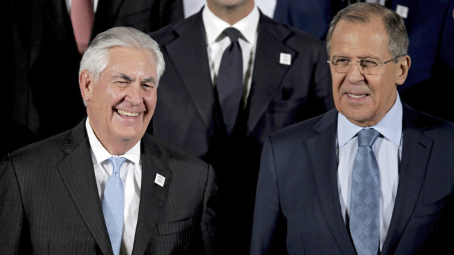 Сергей Лавров и Рекс Тилърсън обсъдиха графика на предстоящите руско-американски контакти