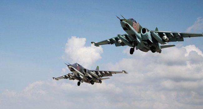 Руската авиация е унищожила повече от 950 обекта на терористите в Сирия за последната седмица