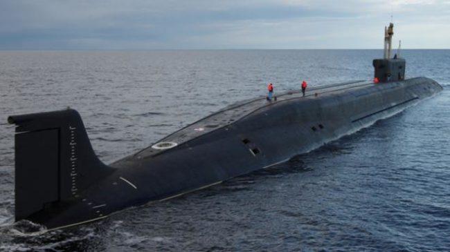 """Пускат на вода атомната подводница """"Княз Владимир"""" – първата от клас """"Борей – А"""""""