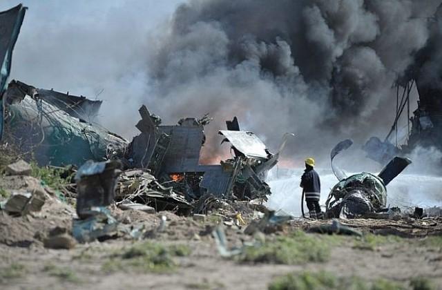 Шест души загинаха след като самолет се разби в Русия