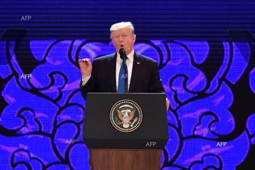 Владимир Путин и Доналд Тръмп са се поздравили на срещата на върха на АТИС