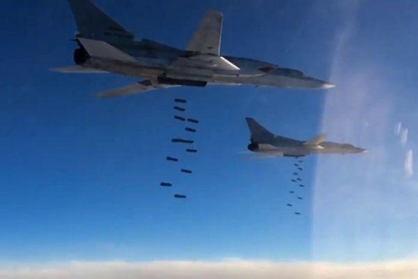 Руски бомбардировачи Ту-22М3 нанесоха удар по терористите в Сирия
