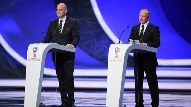 Владимир Путин: Мондиал 2018 ще е важен фактор за младото поколение