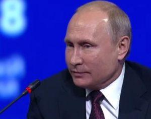 Речта на Владимир Путин на пленарната сесия на 22-рия Международен икономически форум в Санкт Петербург