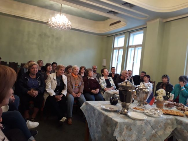 На чай по руски в Русе