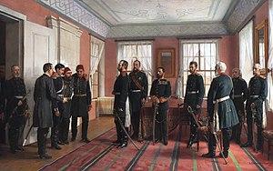 Изложба на репродукции на картини на руски художници за Руско-турската война