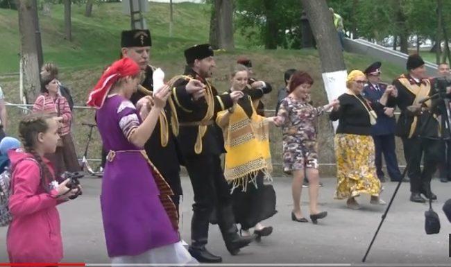 Българско хоро на Волга в Самара