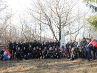 Поклон пред загиналите руски воини в Езерче, край Разград