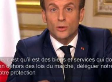 Е. Макрон: Франция и Европа трябва да вземат съдбата си в свои ръце и да променят икономическия модел