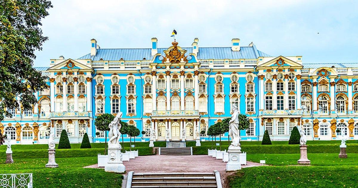Онлайн екскурзия по Екатерининския дворец