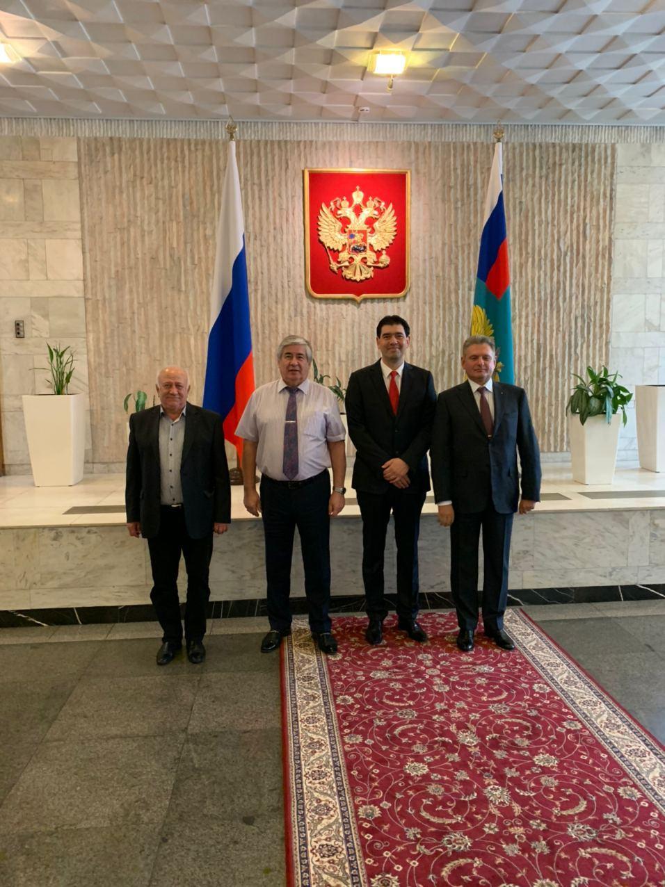 Среща на ръководството на НДРусофили с Посланика на РФ