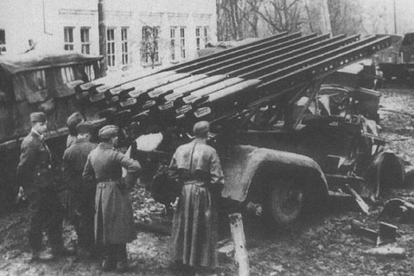 Какви прякори са давали германските войници на съветското оръжие