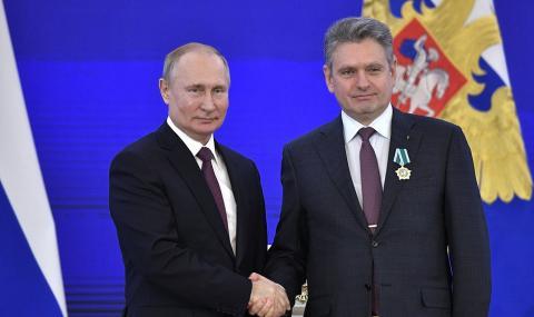 Публикувано във факти.бг: Владимир Путин и Николай Малинов; Снимка: БГНЕС/Архив