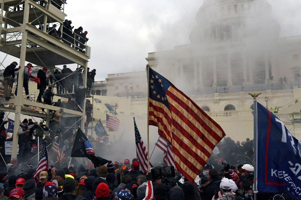 Безредици във Вашингтон