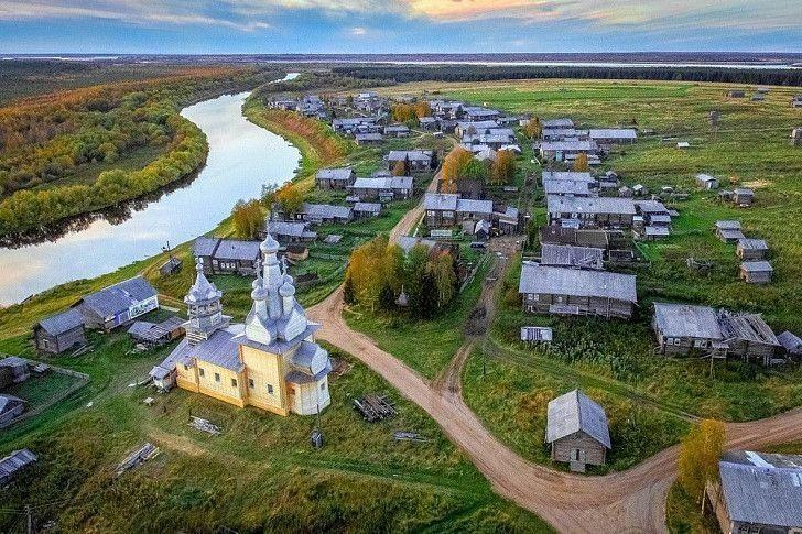 Сребърният пръстен на Русия. Архангелска област – село Кимжа