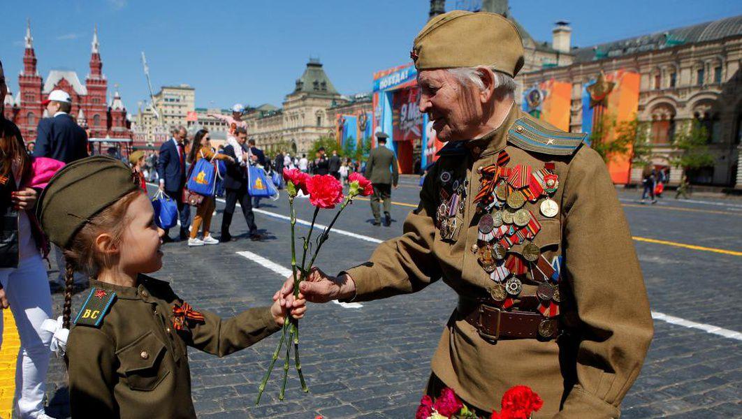 Москва. Червеният площад. Парадът на Победата 2021 година