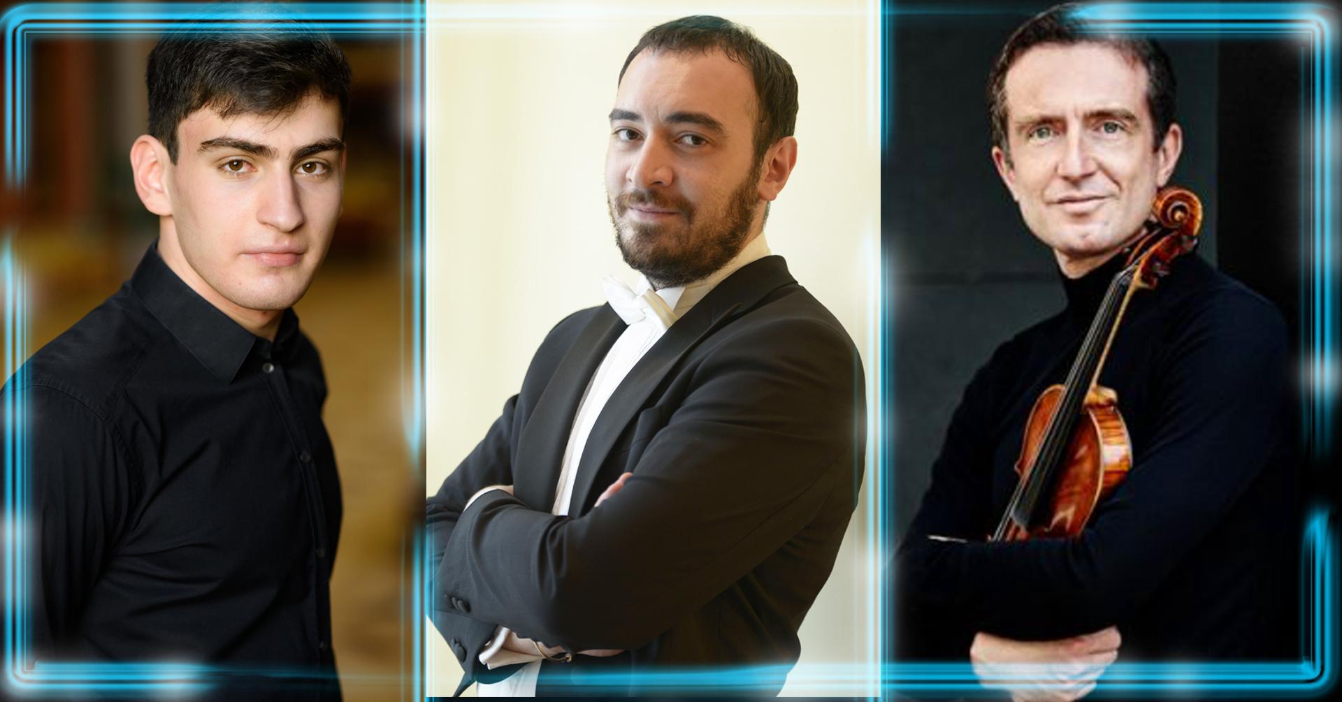На 10 юни Софийската филхармония посреща трима забележителни музиканти