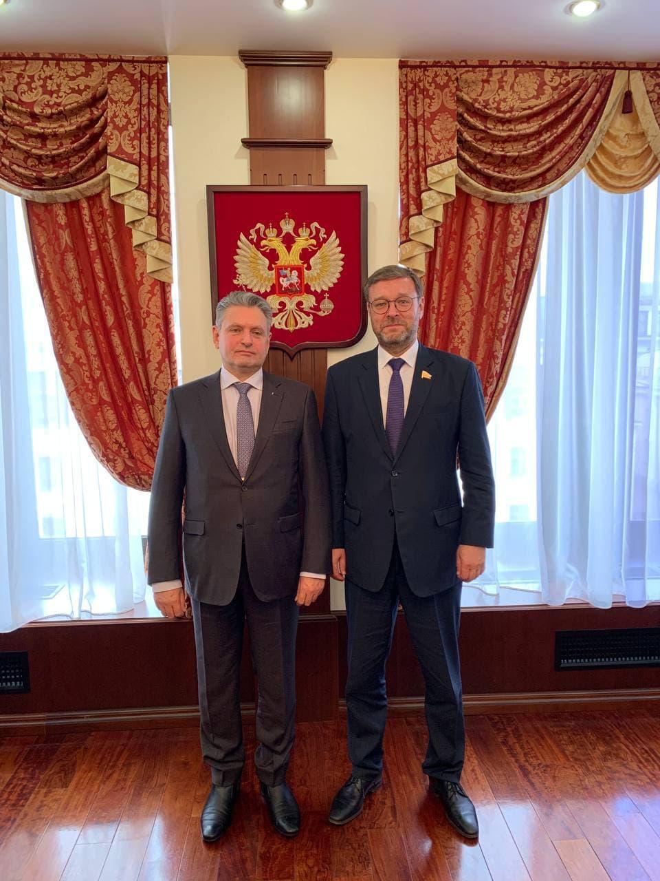 Николай Малинов се срещна с Константин Косачов